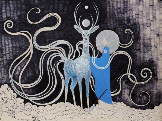 Visual artist: Painter & illustrator from Spain. Guide Animal