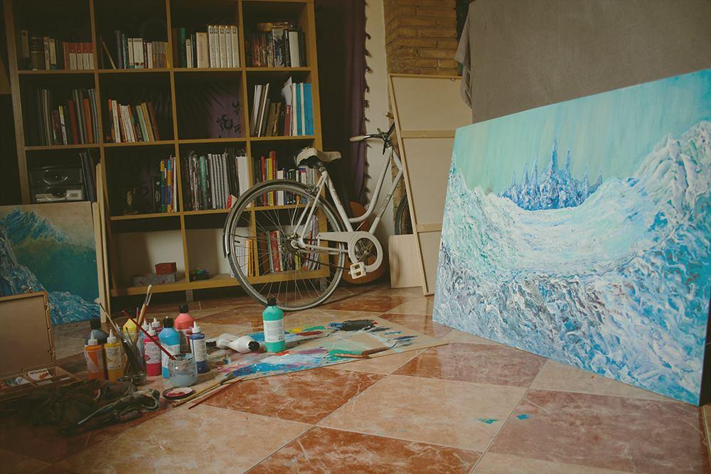 Blanca de la Torre - Visual Artist painter illustrator acrylic art ilustrador illustration ilustración arte artista plástico pintor artístico emerging emergente contemporary Valencia España Spain