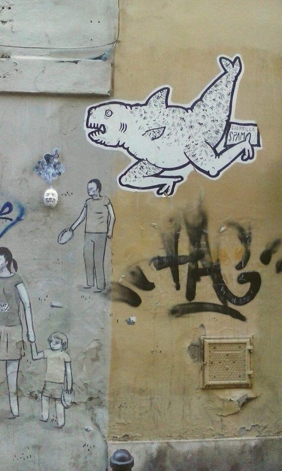 Blanca de la Torre Visual Artist painter illustrator acrylic art ilustrador illustration ilustración arte artista plástico pintor artístico emerging emergente contemporary sreetart Valencia España Spain