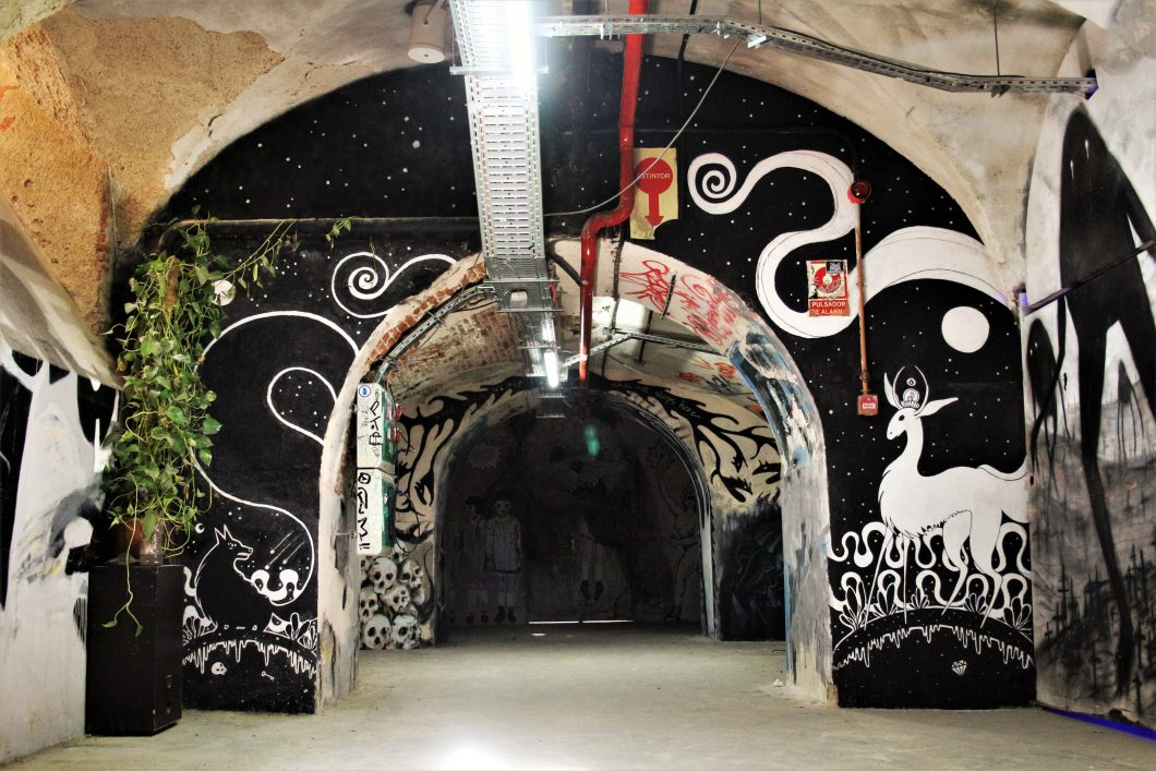 """Mural en """"La Tabacalera"""" - Madrid"""